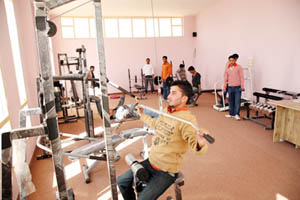 Indo Global Colleges Gym