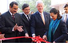 Sonia Gandhi at Lady Hardinge Medical College