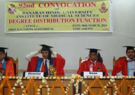 Institute of Medical Sciences Bhu Convocation Day