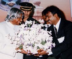 ABJ Abdul Kalam at Sri Ramachandra Dental College and Hospital