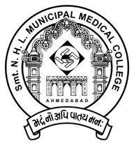 Smt NHL Municipal Medical College Logo