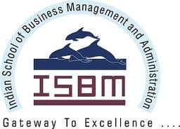 Indian School of Business Management and Administration (ISBM) Logo