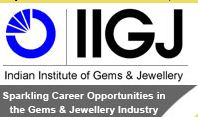Indian Institute of Gems and Jewellery (IIGJ) Logo