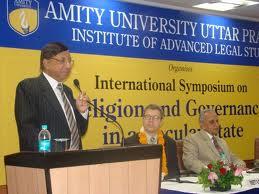 Amity Institute of Advanced Legal Studies Seminar