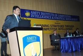Amity Institute of Competitive Intelligence Seminar