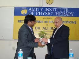 Amity Institute of Physiotherapy Seminar