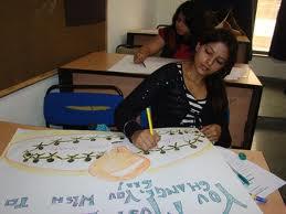 Amity School of Fine Arts Classroom