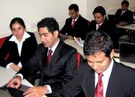 Rustomjee Business School Classroom