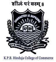 K P B Hinduja College of Commerce Logo