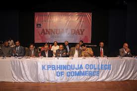 K P B Hinduja College of Commerce Annual Function