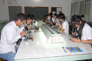 A. M. Shaikh Homoeopathic Medical College Science Lab
