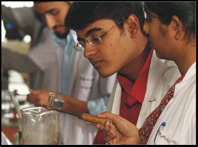 ACS Medical College and Hospital Science Lab