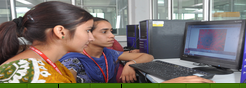 Adesh Institute Computer Lab