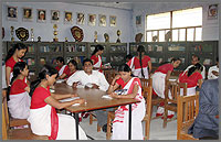 Akhila Bhagya Mahavidyalaya Library