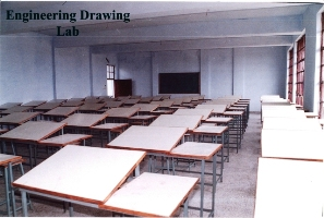 All Saints College of Engineering Drawing Lab