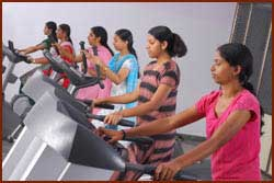 Amrutha College of Education Gym