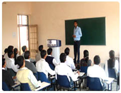 Deen Dayal College of Law Classroom