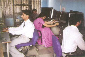 Dhivya College of Education Computer Lab