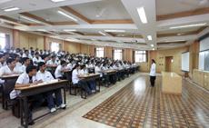 Dr D Y Patil College of Nursing Classroom
