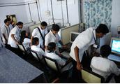Government College of Nursing Kottayam Computer Lab