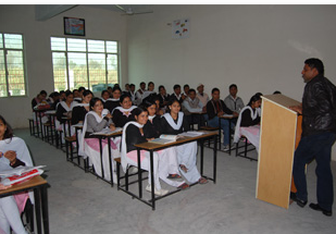 Gyan Bharti College of Education Classroom