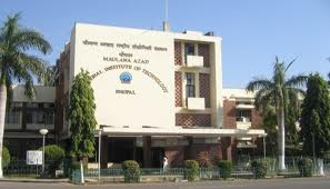 Maulana Azad National Institute of Technology (MANIT), Bhopal Buildiung