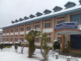 National Institute of Technology - NIT Srinagar Building