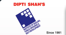 DIPTI SHAH'S Institute of English, Public Speaking & Self-Development