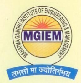 Mahatma Gandhi Institute of Engineering & Management